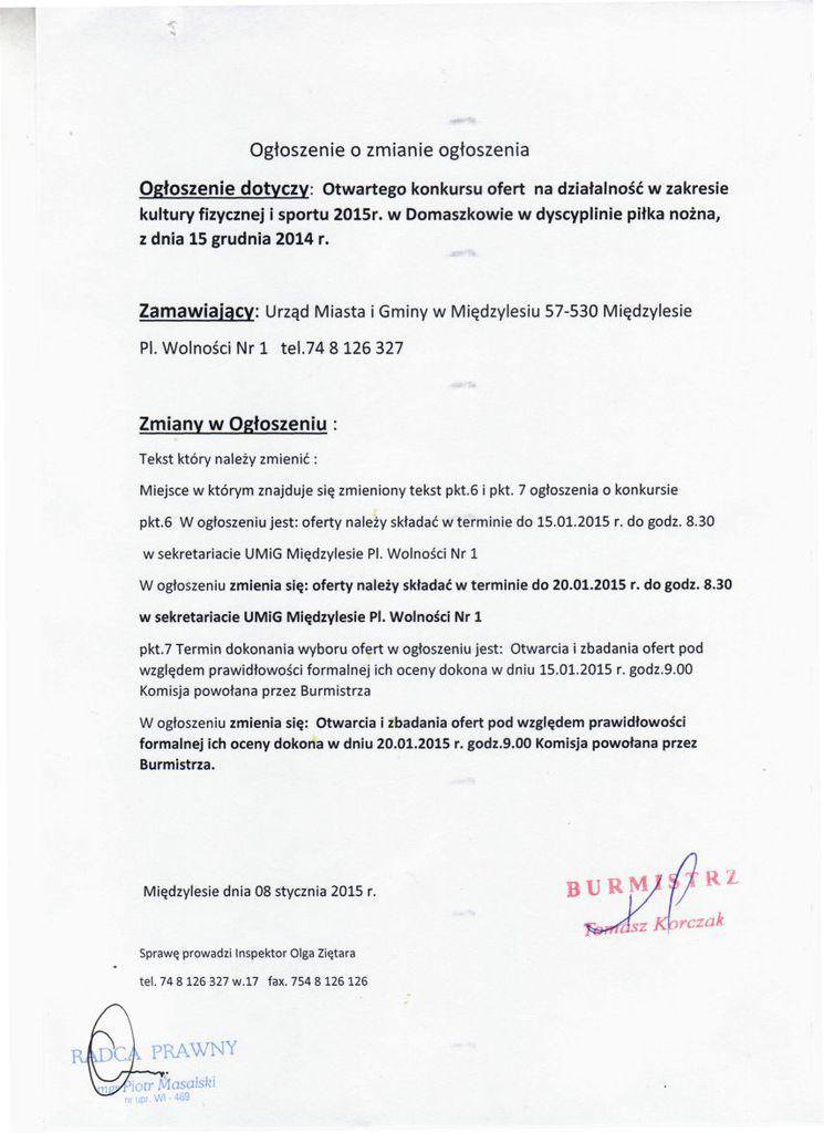 ogłoszenie o zmianie ogłoszenia Domaszków piłka nożna..jpeg