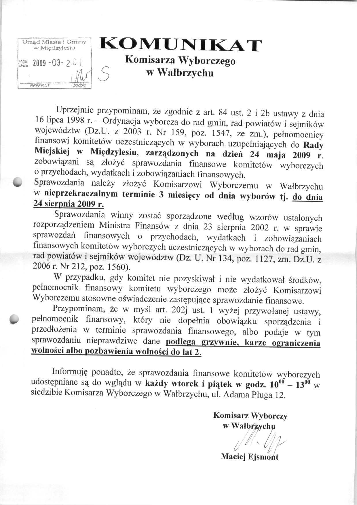 Komunikat Komisarza Wyborczego.jpeg